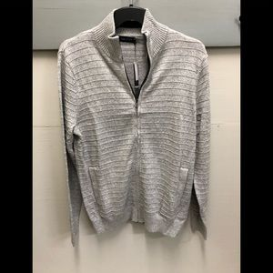 Nautica Men's Zip Up Cardigan